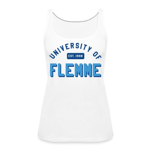 UniversityOfFlemme2 png - Débardeur Premium Femme