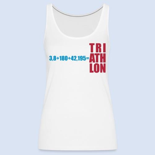 Triathlon Swim Bike Run - Frauen Premium Tank Top