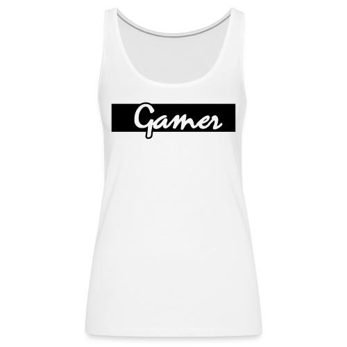 Gamer - Frauen Premium Tank Top