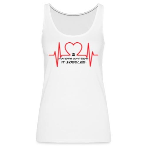 HeartDontBeat - Women's Premium Tank Top