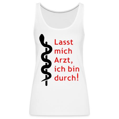 Lasst_Mich_Rot_top - Frauen Premium Tank Top