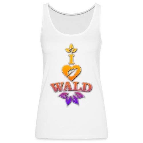 ilovewald_shirt - Frauen Premium Tank Top