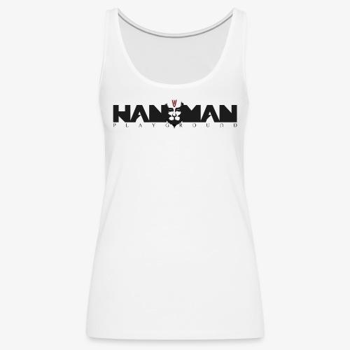 LOGO HANUMAN PLAYGROUND - Débardeur Premium Femme