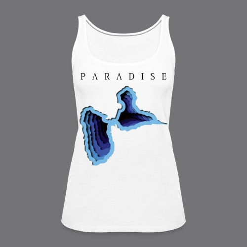 GWADA PARADISE Tee Shirts - Women's Premium Tank Top