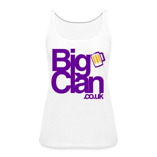 BIg Clan Logo Purple - Women's Premium Tank Top