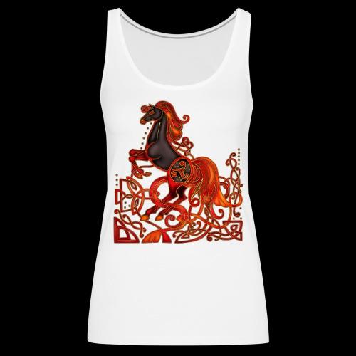 Celtic Horse Night Mare - Women's Premium Tank Top