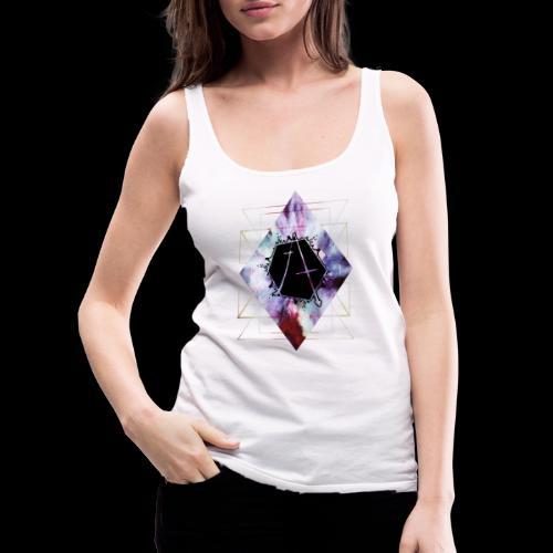 Geometric Logo - Women's Premium Tank Top