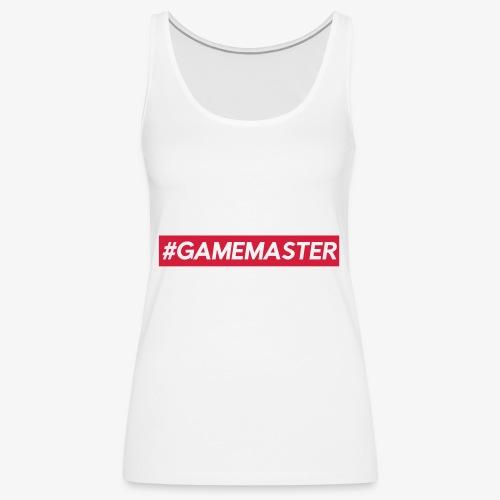 GAMEMASTER - Débardeur Premium Femme