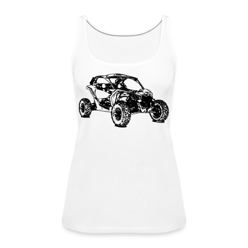 Side by Side car Offroad - Frauen Premium Tank Top