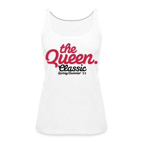the queen classic - Tank top damski Premium