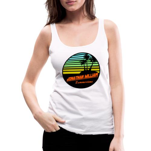 Jonathan William Summertime - Women's Premium Tank Top