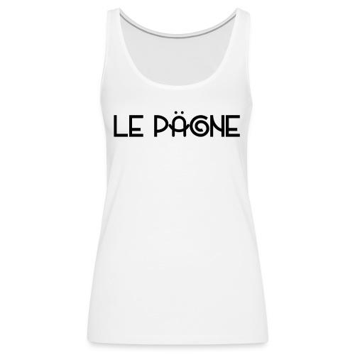 Le Pägne Logo Noir - Débardeur Premium Femme