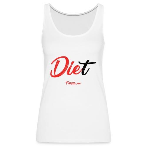 Diet by Fatastic.me - Women's Premium Tank Top