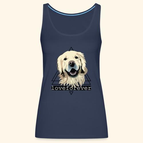 RETRIEVER LOVE FOREVER - Camiseta de tirantes premium mujer