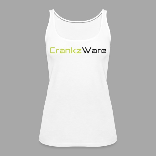 CrankzWare Tech-Font Only 4 Grills - Frauen Premium Tank Top