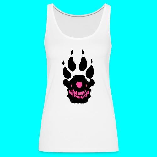 susi logo pinkki - Naisten premium hihaton toppi