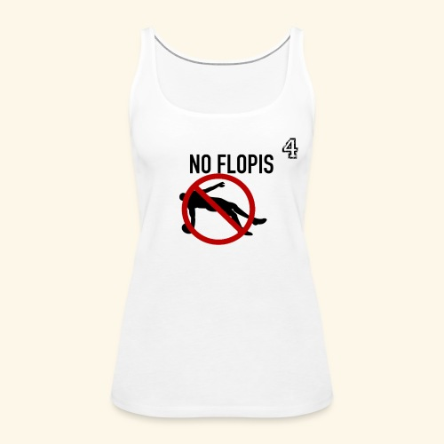 No Flopis - 4 - Camiseta de tirantes premium mujer