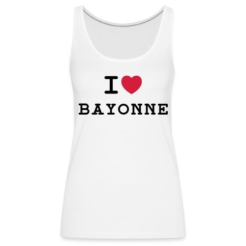ilovebayonne - Débardeur Premium Femme