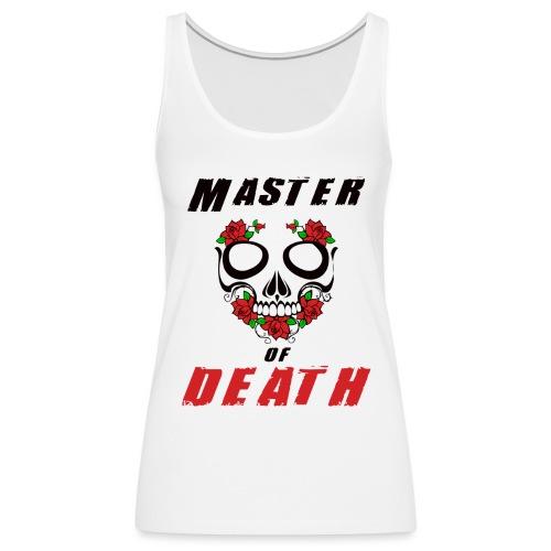 Master of death - black - Tank top damski Premium