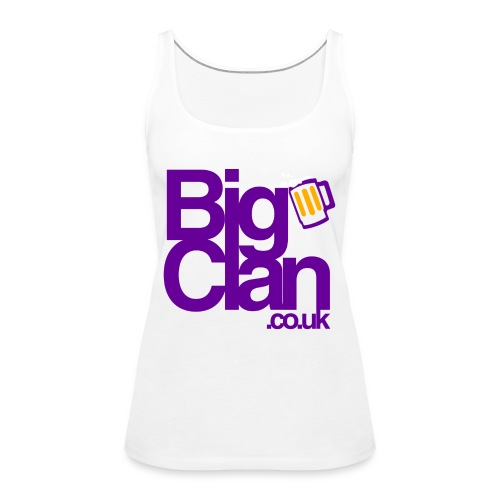 BIg Clan Logo Purple - Women's Premium Tank Top