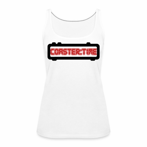 Coaster Time Schwarz - ParkTube - Frauen Premium Tank Top