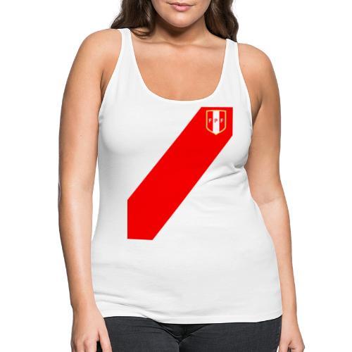 Seleccion peruana de futbol (Recto-verso) - Camiseta de tirantes premium mujer