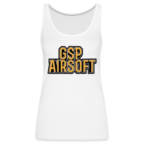 GSP Shirtdesign2 png - Frauen Premium Tank Top
