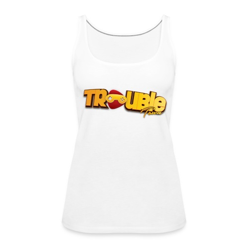 troubletown logo png - Frauen Premium Tank Top