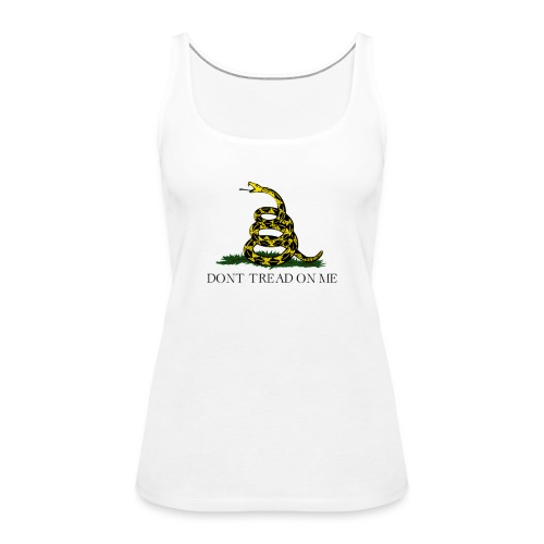 Gadsden flag transparent big - Premiumtanktopp dam
