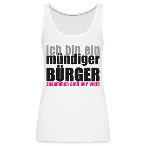muendiger_buerger - Frauen Premium Tank Top