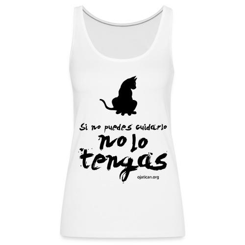 jati - Camiseta de tirantes premium mujer