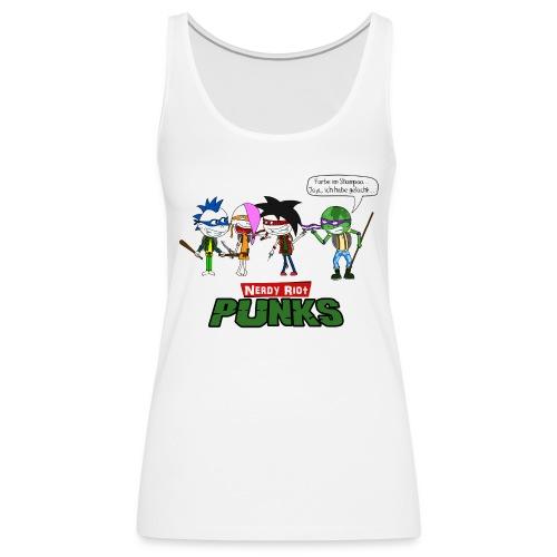 Nerdy Riot Punks - Frauen Premium Tank Top