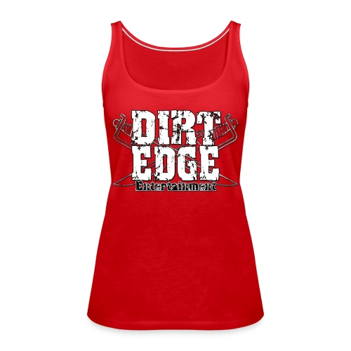 DIRT-EDGE Logo - Frauen Premium Tank Top