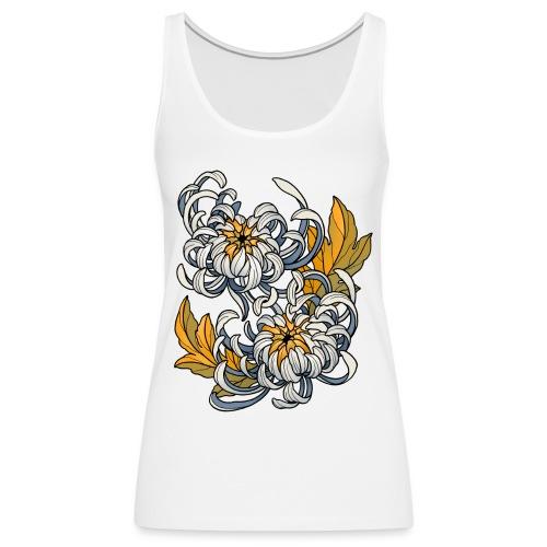 Chrysanthèmes enlacés - Débardeur Premium Femme