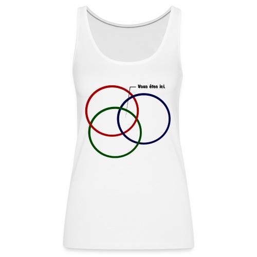 ISR T shirt png - Débardeur Premium Femme