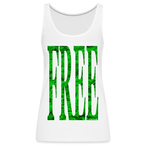 free cannabis - Women's Premium Tank Top