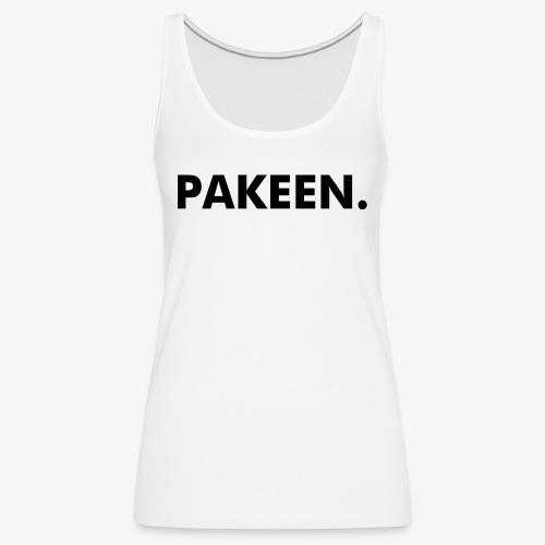 Pak Een Punt Horizontaal - Vrouwen Premium tank top