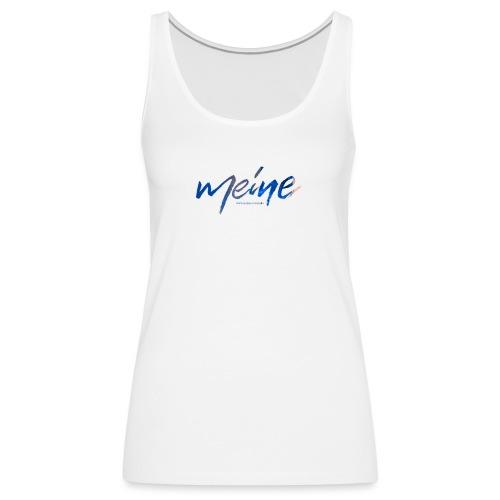 Meine Logo Blau - Frauen Premium Tank Top