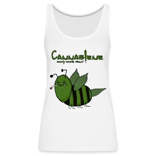 Cannabiene shirt png - Frauen Premium Tank Top