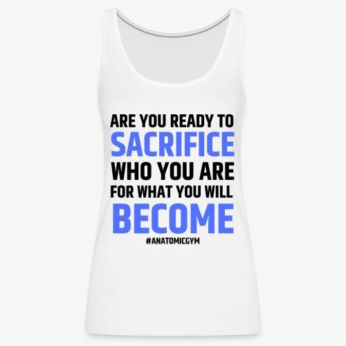 ARE YOU READY - Débardeur Premium Femme