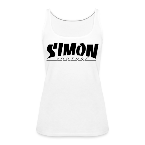 Thrasher Simon 2 - Canotta premium da donna