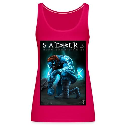 Saltire Invasion1 - Women's Premium Tank Top