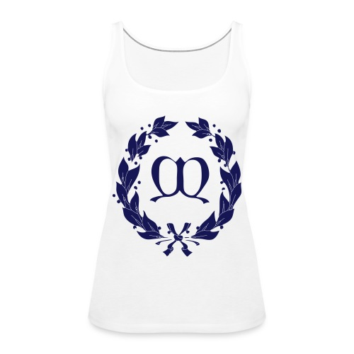 motiv fahne cs4 navy - Frauen Premium Tank Top