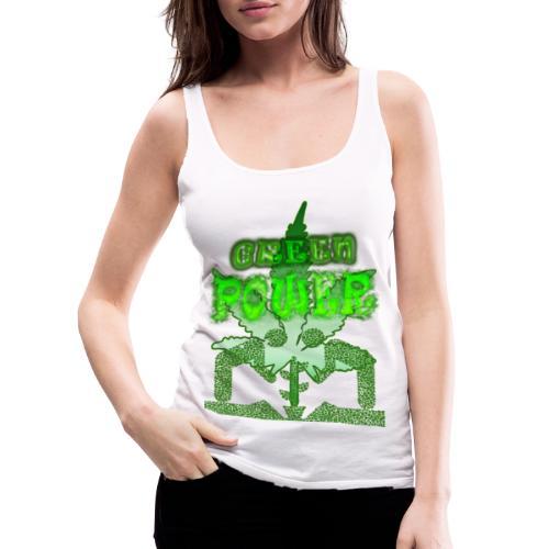 Green Power - Débardeur Premium Femme
