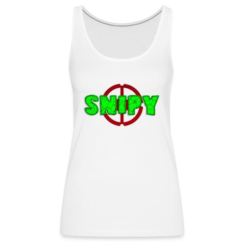 Snipy - Canotta premium da donna