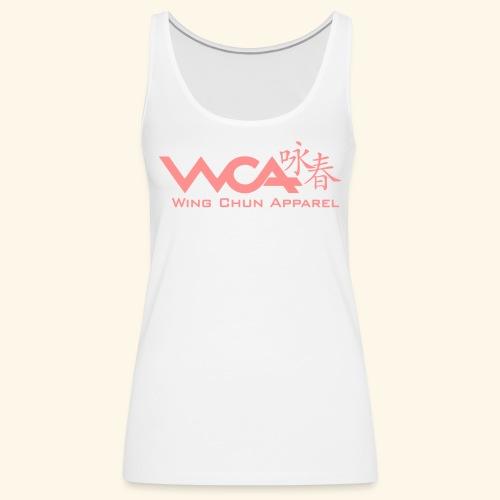 WCA - Logo - Women's Premium Tank Top
