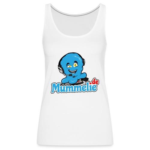 blau komplett übereinander - Frauen Premium Tank Top