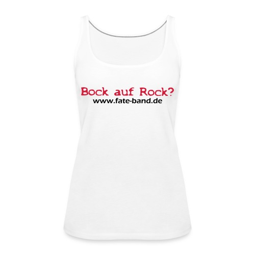 fate logo spreadshirt 4 - Frauen Premium Tank Top