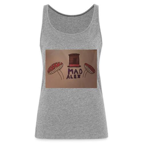 Mad Alex Logo - Women's Premium Tank Top