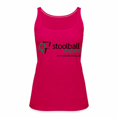 Stoolball England - Women's Premium Tank Top
